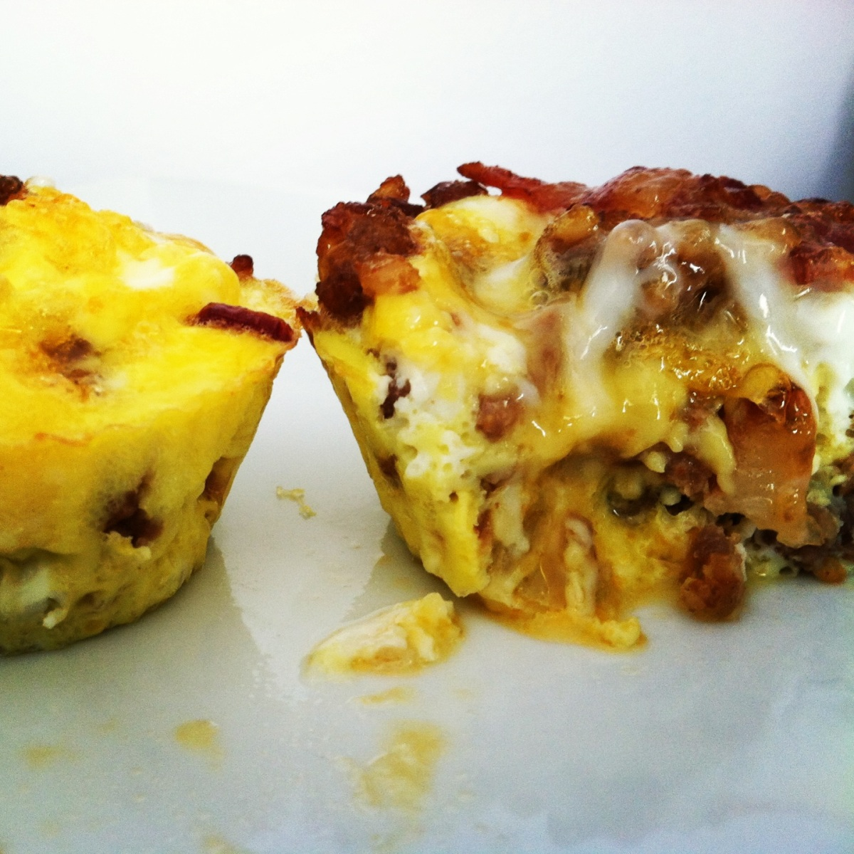 Bacon Sausage Egg Bites
