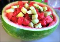 Watermelon Mojito Salad