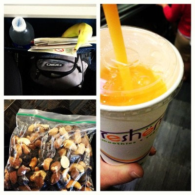 Trail Mix & Smoothie (Freshens - ATL)