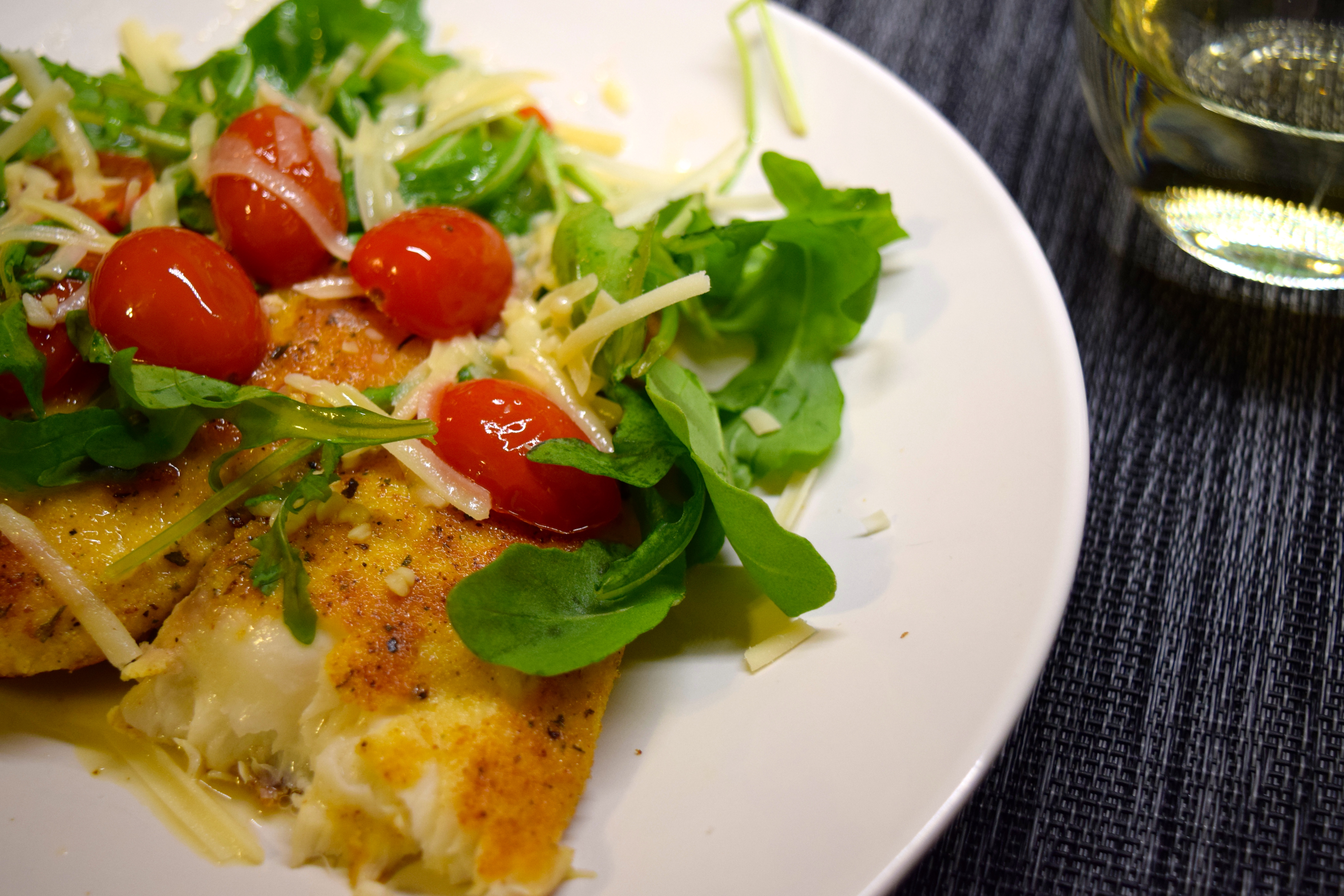 Tilapia Milanese Gone Paleo With The Occasional Faileo