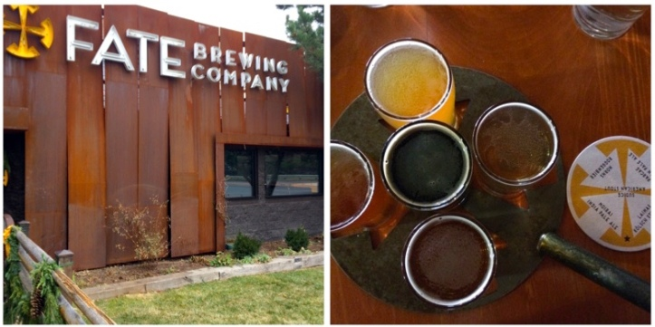 Fate Brewing Company - Boulder, CO Core Beer Flight - Finally... a coaster to help customers keep their brews straight.