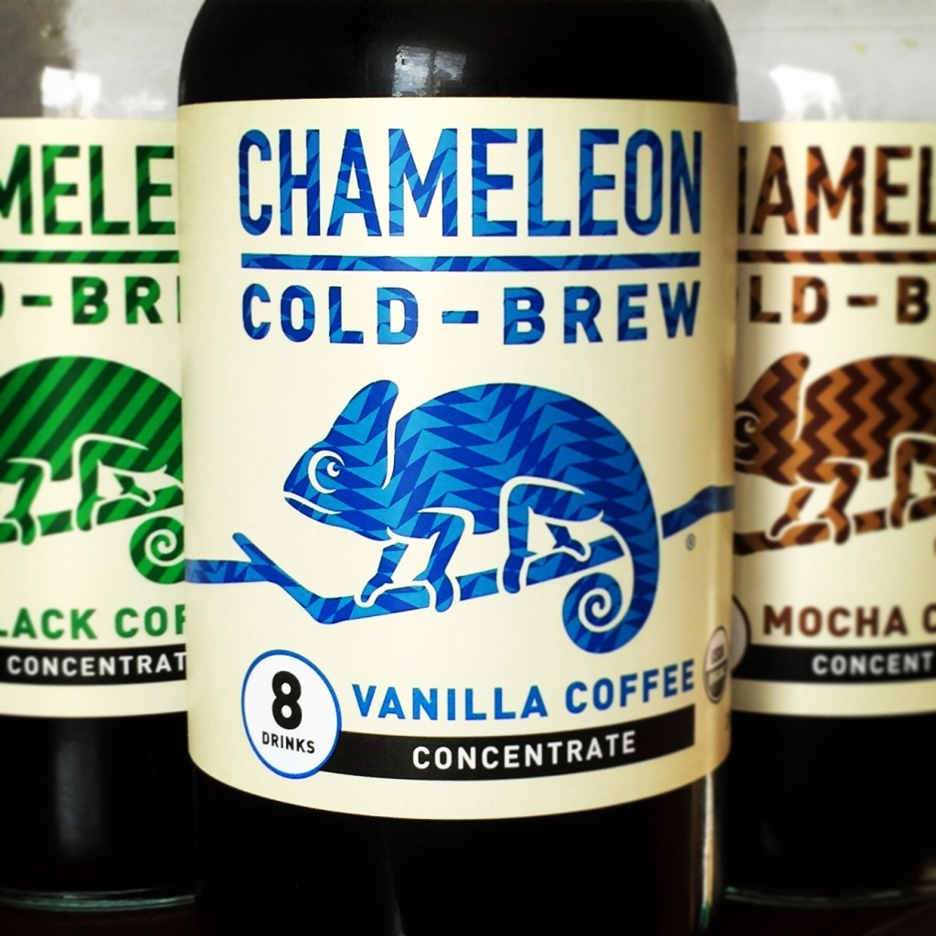 The way you enjoy Chameleon Cold Brew Coffee Concentrate is as plain and simple as its extremely short ingredient list: add water and enjoy. It's made from Filtered Water and 100% Organic Fair Trade Arabica coffee beans.
