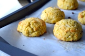 Dubliner Bacon Garlic Herb Biscuits